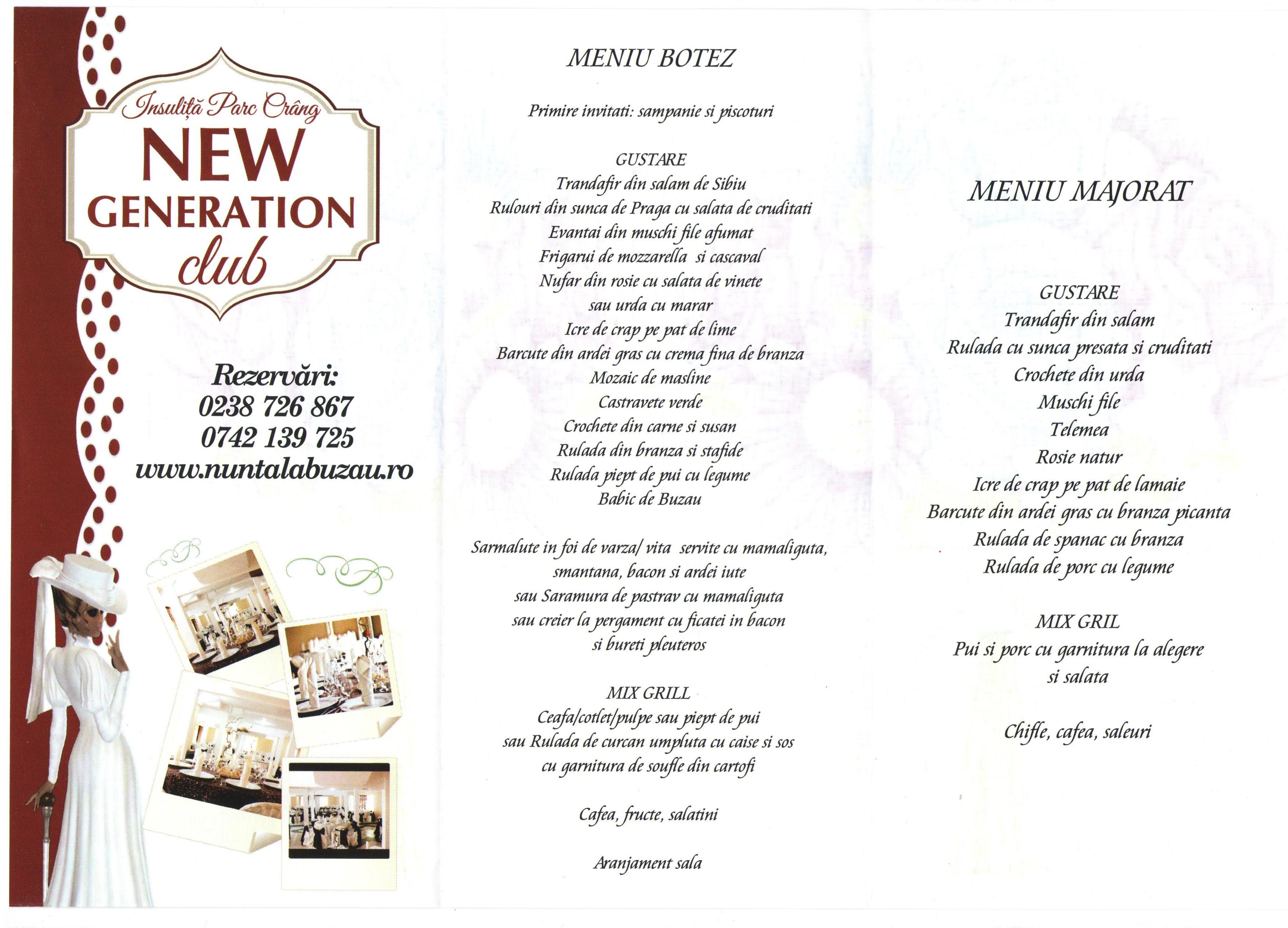 Restaurant New Generation Buzau Restaurantebuzaucom